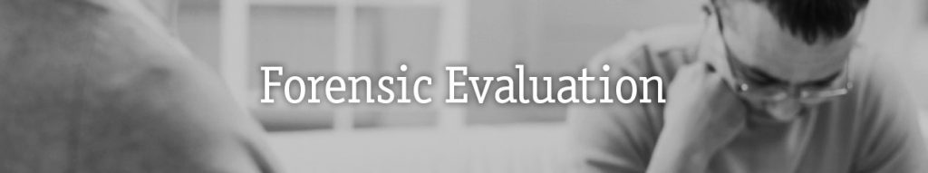 Forensic Evaluation Program 1